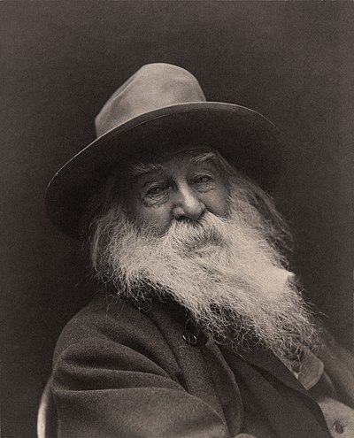 Picture of an author: Walt Whitman