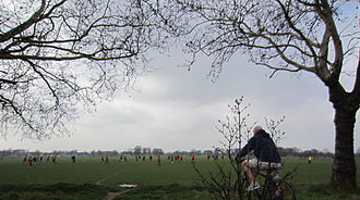 Wanstead Flats - Looking south towards Forest Gate