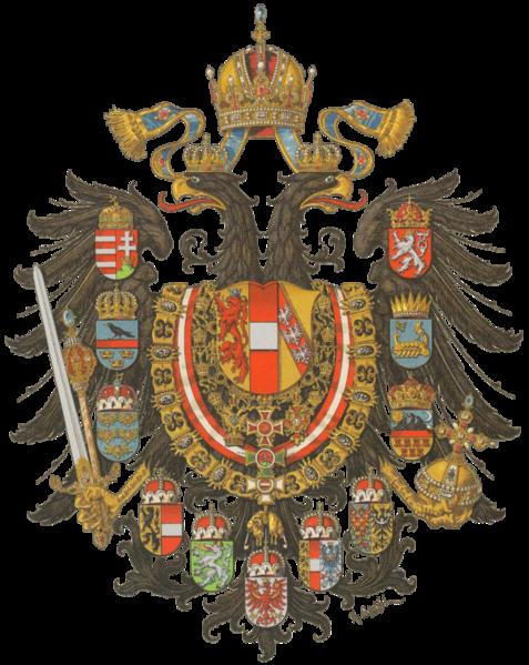 Ficheiro:Wappen Kaisertum Österreich 1867 (Mittel).png