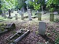 War graves at Bell's Hill, Chipping Barnet.jpg