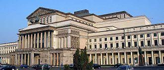 Antonio Corazzi - The restored Grand Theatre