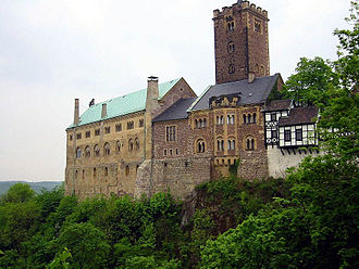 Tannhäuser (opera) - The Wartburg in Eisenach