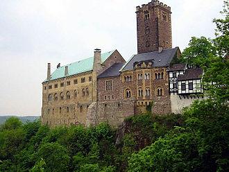 Tannhäuser (opera) - The Wartburg in Eisenach
