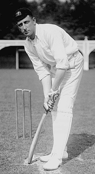 Warwick Armstrong - Armstrong's stance at the wicket