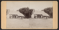 Washington's Headquarters, Newburgh, N.Y. Rear view with cannon, from Robert N. Dennis collection of stereoscopic views.png