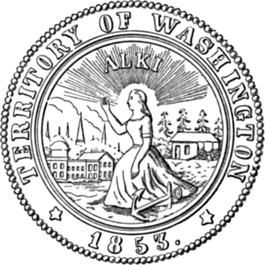 Washington Territory - Image: Washington Territory seal