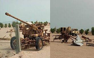 Waste - Image: Weapon scraps