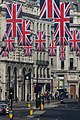 Wedding of Prince William of Wales and Kate Middleton Regent Street flags.jpg