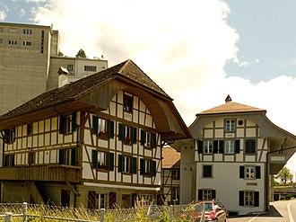 Bolligen - Image: Wegmühle Bolligen 1