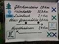 Wegweiser in Himmelgarten (Glockensteine 1,9 km).jpg