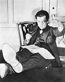 Orson Welles theatre credits