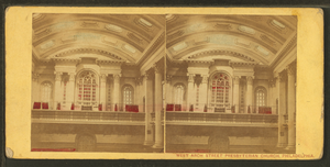 Arch Street Presbyterian Church - Image: West Arch Street Presbyterian Church, (Presbyterian, Old School), Philadelphia. South east corner of Arch and Eighteenth Streets, by Mc Allister & Brother