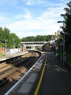 West St Leonards railway station - Image: West St Leonards Station geograph.org.uk 1360357
