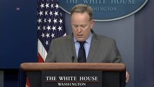 Datei:White House Spokesman Spicer Holds News Conference.webm