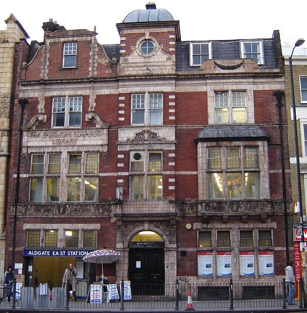 Whitechapel public library 1