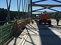 Whittier Bridge- Structural steel and wood formwork are placed for arch span barrier (21605125216).jpg