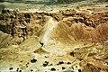 WikiAir IL-13-06 040 - Roman ramp at Masada.jpg