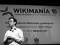 Wikimanía 2015 - Day 4 - Luis von Ahn conference - LMM (27).jpg