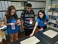 Wikimania 2016 Deryck day 2 - 04 volunteers at Pensa archive.jpg