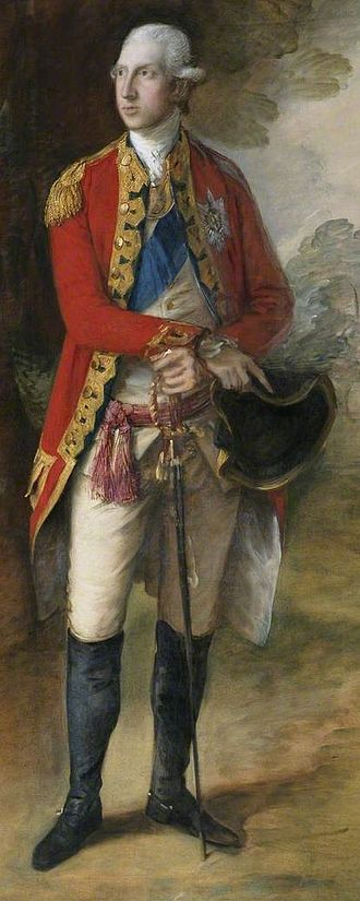 Prince William Henry, Duke of Gloucester and Edinburgh - The Duke by Thomas Gainsborough, c.1775.