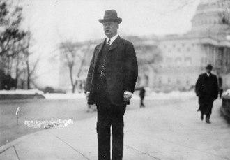 William Atkinson Jones - Jones standing before the Capitol Building