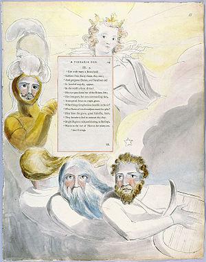 William Blake - The Poems of Thomas Gray, Design 63 The Bard 11.jpg