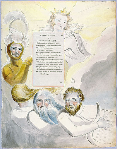 William Blake - The Poems of Thomas Gray, Design 63 The Bard 11.jpg