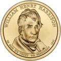 William Henry Harrison Presidential $1 Coin obverse.png