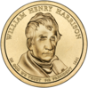 dólar William Henry Harrison