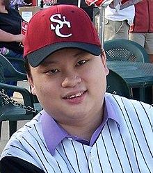 Asian guy singing