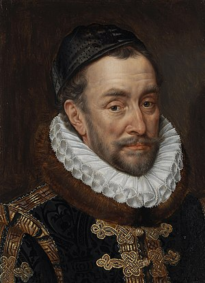 William I, Prince of Orange by Adriaen Thomasz. Key Rijksmuseum Amsterdam SK-A-3148