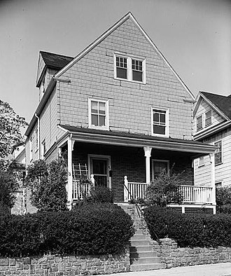 William Monroe Trotter House - Image: William Monroe Trotter House, 97 Sawyer Avenue, Dorchester (Suffolk County, Massachusetts)