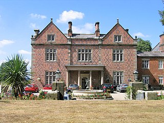 Willington Hall grade II listed hotel in the United kingdom