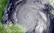 Hurricane Wilma on 19 October 2005 – 88.2 kPa in eye