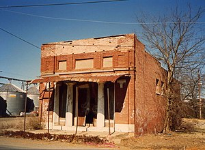 Winchester, Arkansas - Image: Winchester Ark Vacant Store