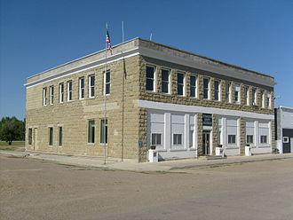 Petroleum County, Montana - Image: Winnett MT Petroleum County Courthouse (2)