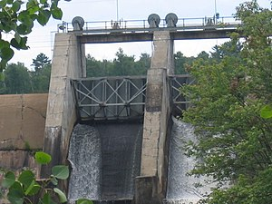 Winton, Minnesota - The Winton Hydro Electric Dam