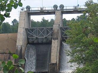 Winton, Minnesota - The Winton Hydro Electric Dam