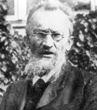 Wladimir Köppen - 1921, photo by Friedrich Becks