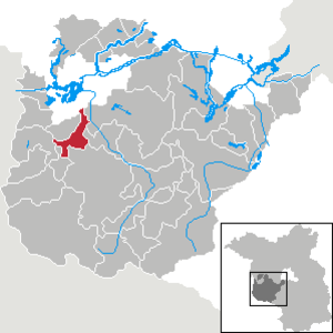 Wollin, Brandenburg - Image: Wollin in PM