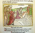 Woodcut illustration of Cloelia's escape from Lars Porsena - Penn Provenance Project.jpg