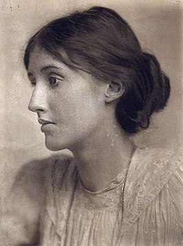 Virginia Woolf 1902, foto George Charles Beresford