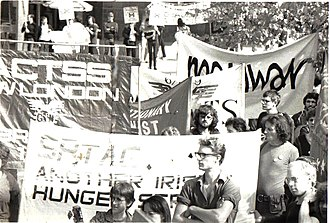 Revolutionary Communist Party (UK, 1978) - The 'Workers March for Irish Freedom', taking the cause of Irish hunger strikers to the TUC conference in 1981, was a turning point for the RCT
