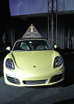 World Car of the Year - Porsche Boxster is the 2013 World Performance Car
