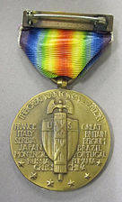 World War I Victory Medal (United States), Reverse.jpg