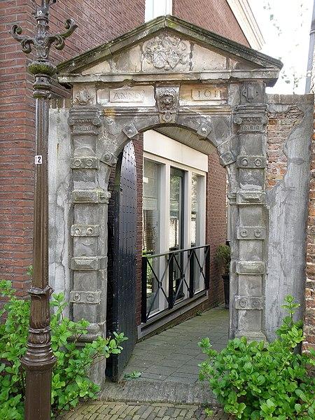 File:Woudrichem Poort Hoogstraat n° 46.JPG