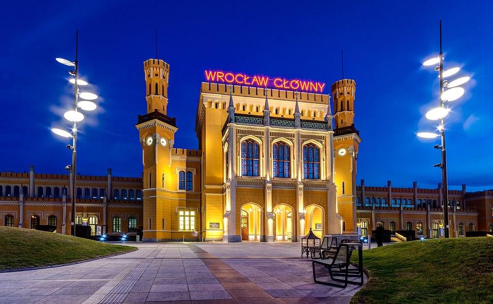 Wroclaw Glowny - budynek dworca