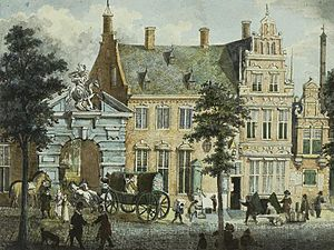 Daniel Cajanus - Proveniershuis in Haarlem
