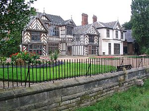 Wythenshawe - Wythenshawe Hall, a former stately home and local landmark in Wythenshawe Park