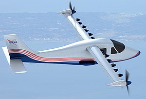 Electric aircraft - NASA developed the X-57 Maxwell from a Tecnam P2006T